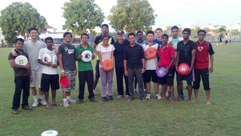 AUCMS Frisbee Club Launch-001